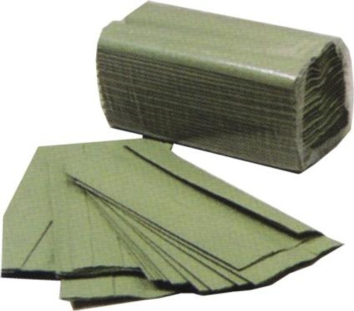 GREEN C-FOLD PAPER TOWELS (BOX 2624)