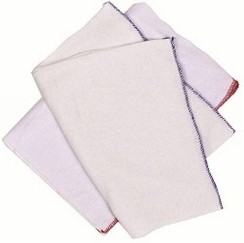 WHITE DISH CLOTHS (PACK 10)