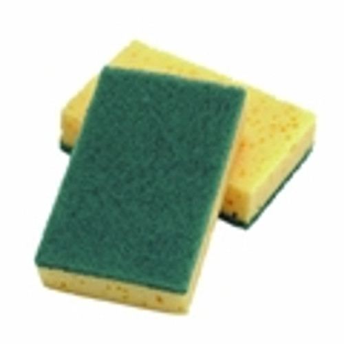 LARGE SPONGE SCOURING PADS (PACK 10)