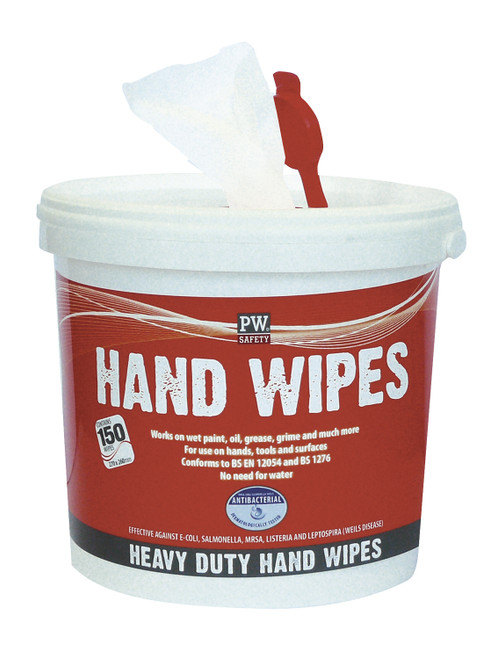 INDUSTRIAL WET HAND WIPES (TUB 150)