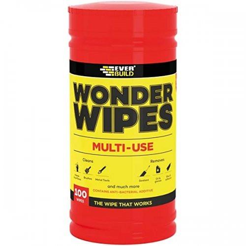 Wonder Wipes Anti Bac Multi Wipes (Tub 100)