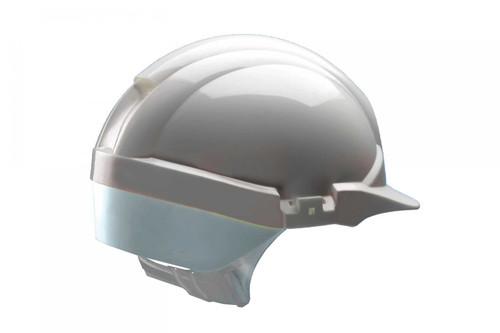 White Centurion Reflex Safety Helmet