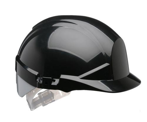 Black Centurion reflex Safety Helmet