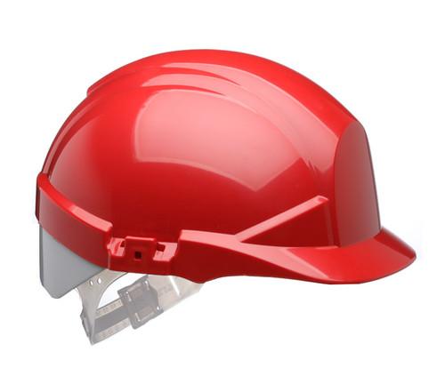 Red Centurion reflex Safety Helmet