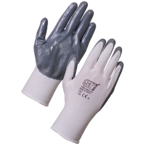 Nitrile Part Coated Glove