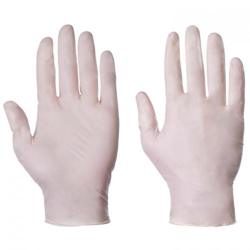 Latex Disposable Gloves (box 100)