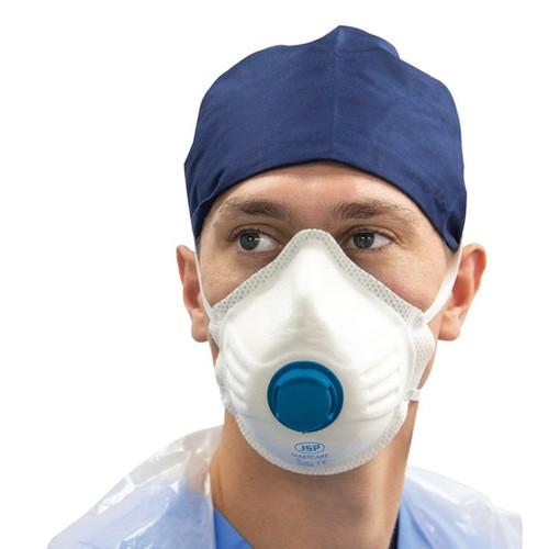 JSP Martcare  FFP3 Moulded Valved dust Masks (BOX 10)
