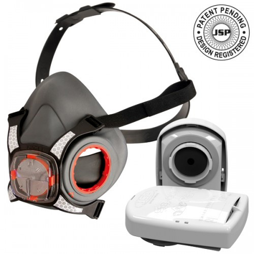 JSP FORCE 8 MEDIUM RESPIRATOR SUPPLIED WITH P3 FILTERS