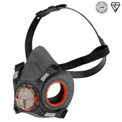 JSP FORCE 8 SMALL RESPIRATOR (WITHOUT FILTERS)