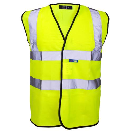 Yellow High Vis Sleeveless Waistcoat