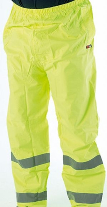 Yellow High Vis Waterproof Over Trousers