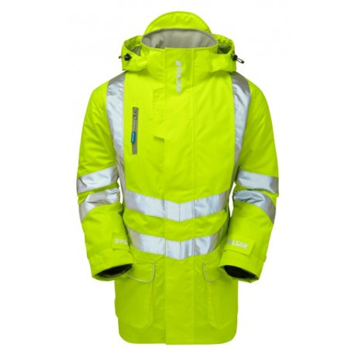 PULSAR P187 Yellow Padded Coat