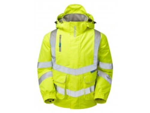 PULSAR P191 Yellow Padded Bomber Jacket