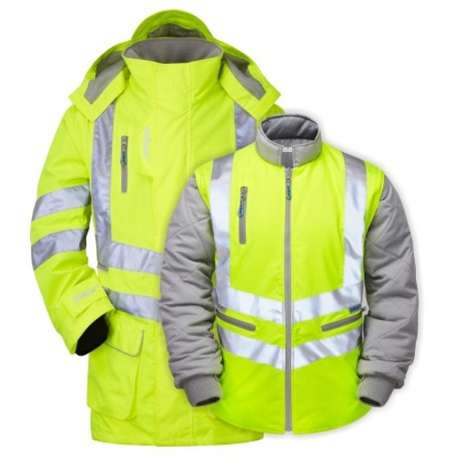 PULSAR P487 Yellow 7 In 1 Storm Coat
