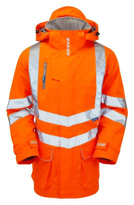 PULSAR Rail PR502 Orange Padded Coat