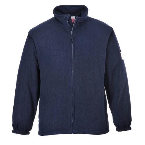 Navy Flame Retardant Fleece Jacket