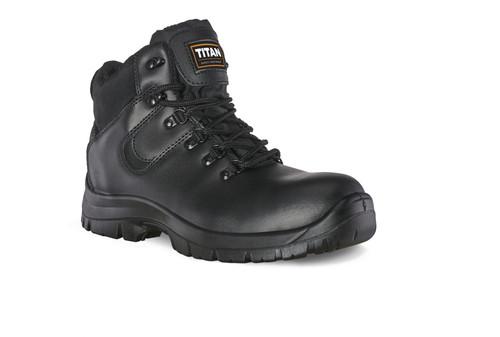 TITAN black safety hiker boot
