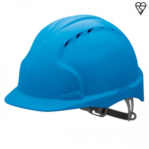 JSP Evo3 Blue Safety Helmet