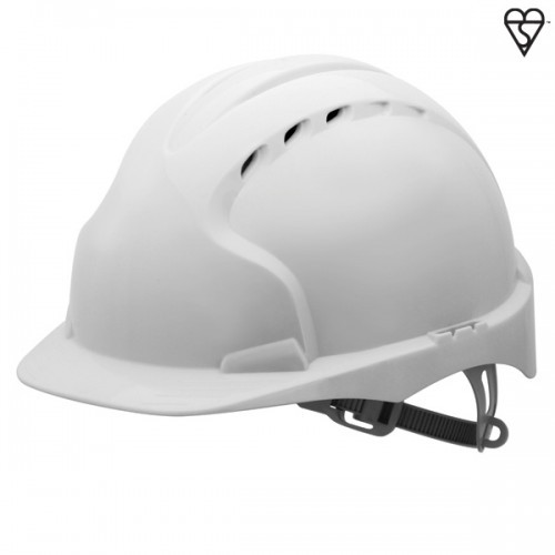 JSP Evo3 White Safety Helmet