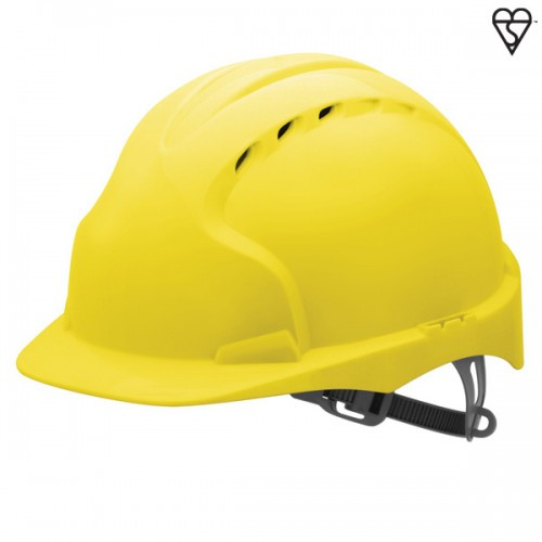 JSP Evo3 Yellow Safety Helmet