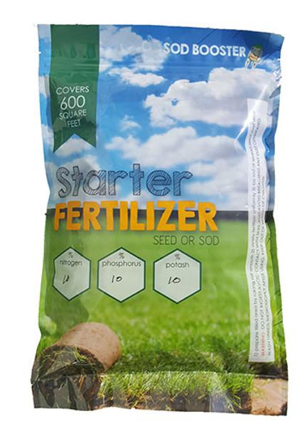 sod fertilizer