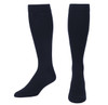 A1013NV, Medium Support (15-20mmHg) Navy Knee High Compression Socks, Front View