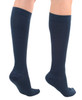 A105NV, Firm Support (20-30mmHg) Navy Knee High Compression Socks, Back View