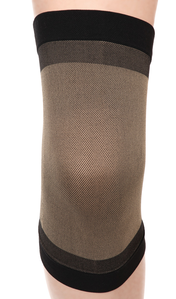 M904BL, Firm Support (20-30mmHg)  Knee High Compression Socks, Front View