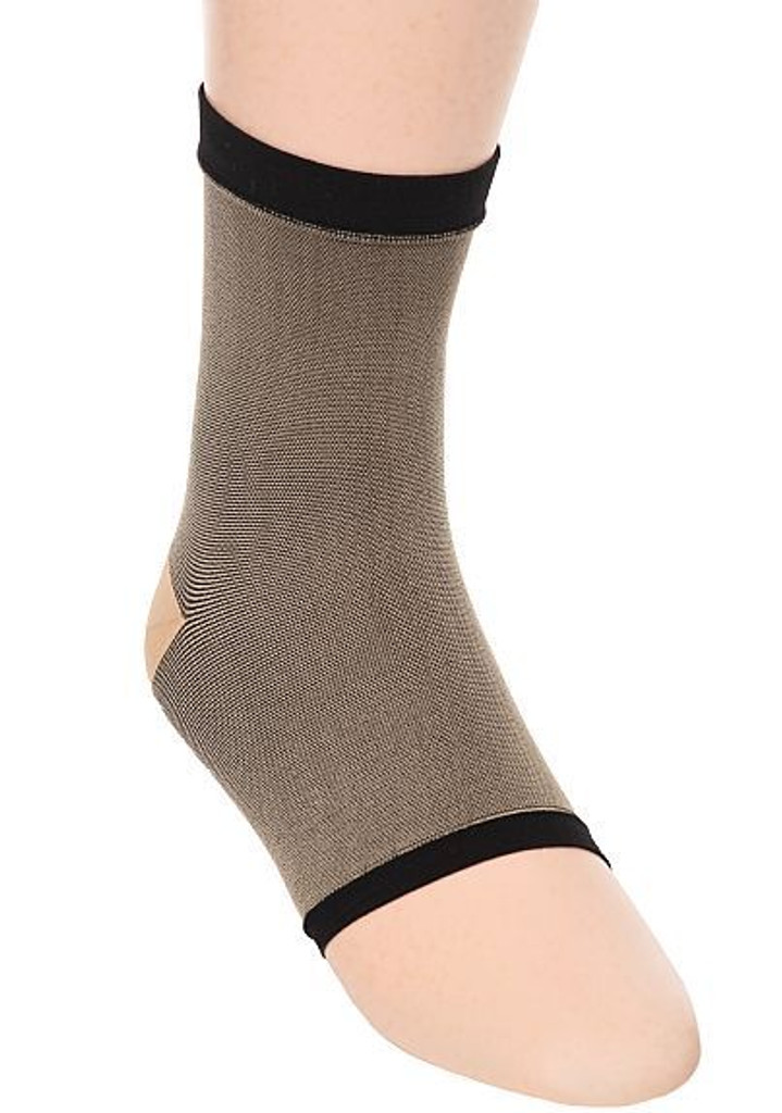 M903BL, Firm Support (20-30mmHg)  Knee High Compression Socks, Front View