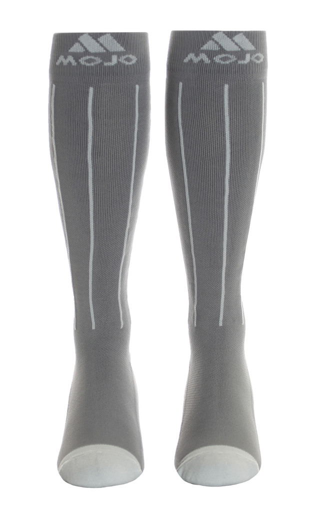 M816GS, Firm Support (20-30mmHg)  Knee High Compression Socks, Front View