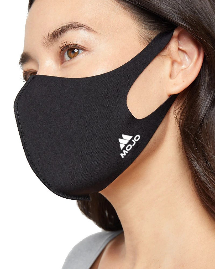 Mojo Reusable Face Mask – Breathable Stretch Comfort, Cooling Anti-Bacterial Silver Infused Yarns, Washable Face Masks, Unisex (8 Pack)