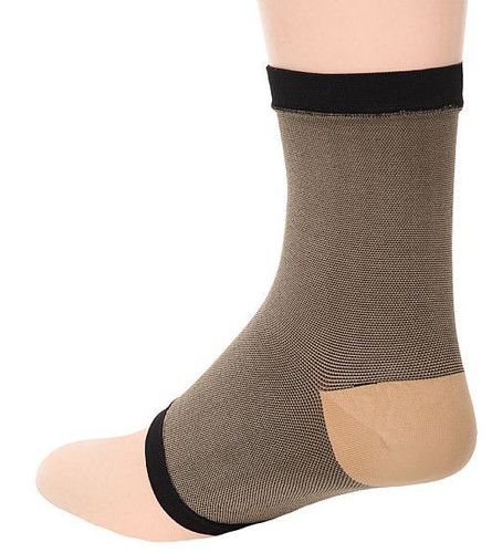 M903BL, Firm Support (20-30mmHg)  Knee High Compression Socks, Back View