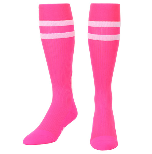 Mojo Compression Socks Special Edition - Breast Cancer Ribbon Compression Socks Pink