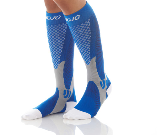 Mojo Compression Socks™ Elite Recovery & Performance Compression Socks - Blue