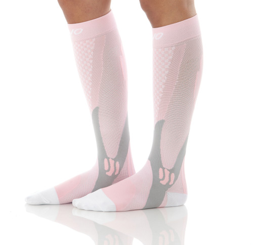 Mojo Compression Socks™ Elite Recovery & Performance Compression Socks - Pink
