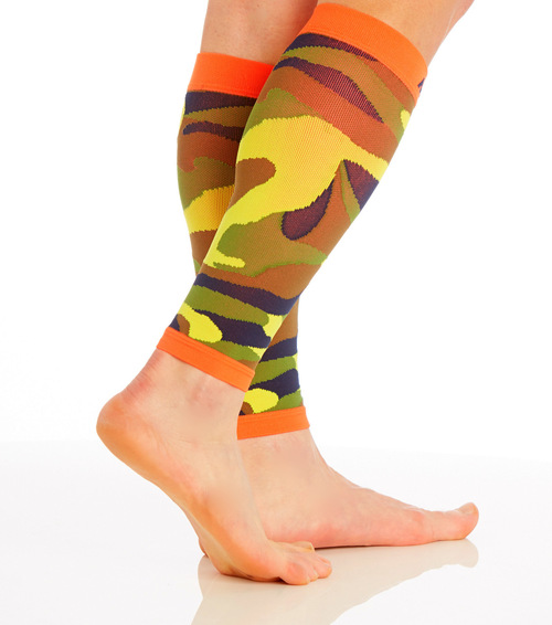 CAMOSLEEVECO, Firm Support (20-30mmHg)  Knee High Compression Socks, Rear View
