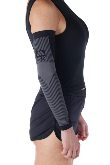 Mojo Compression Lymphedema Black Firm Arm Sleeve 20-30 mmHg