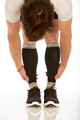 M802BL, Firm Support (20-30mmHg)  Knee High Compression Socks, Front View