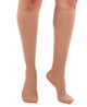 A231LB, Firm Support (20-30mmHg) Light Beige Knee High Compression Socks, Front View