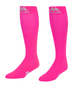 M809RB, Firm Support (20-30mmHg) Royal Blue Knee High Compression Socks, Rear View