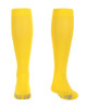 M809YE, Firm Support (20-30mmHg) Yellow Knee High Compression Socks, Back View