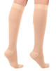 A201BE, Firm Support (20-30mmHg) Beige Knee High Compression Socks, Back View