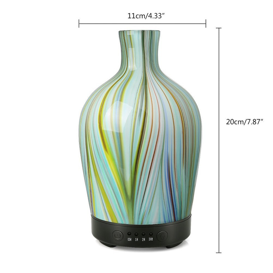 Glass Vase Diffuser Vertical Stripe 100ml