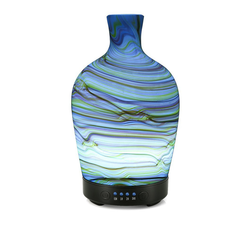 Glass Vase Diffuser Horizontal Stripe 100ml