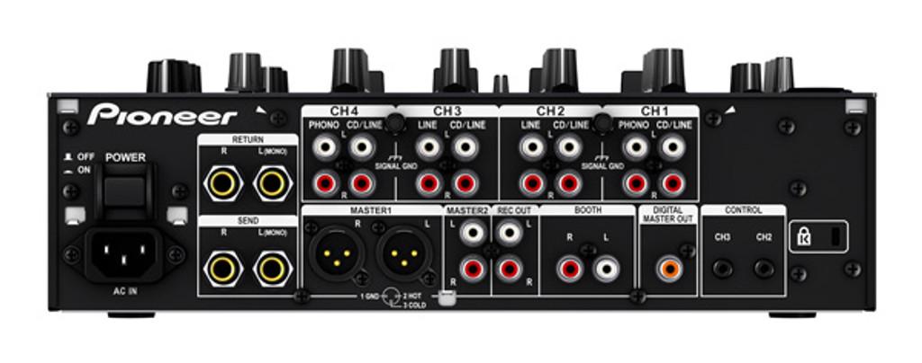 Pioneer DJM750 Performance 4 Channel Professional Digital DJ Mixer DJM 750