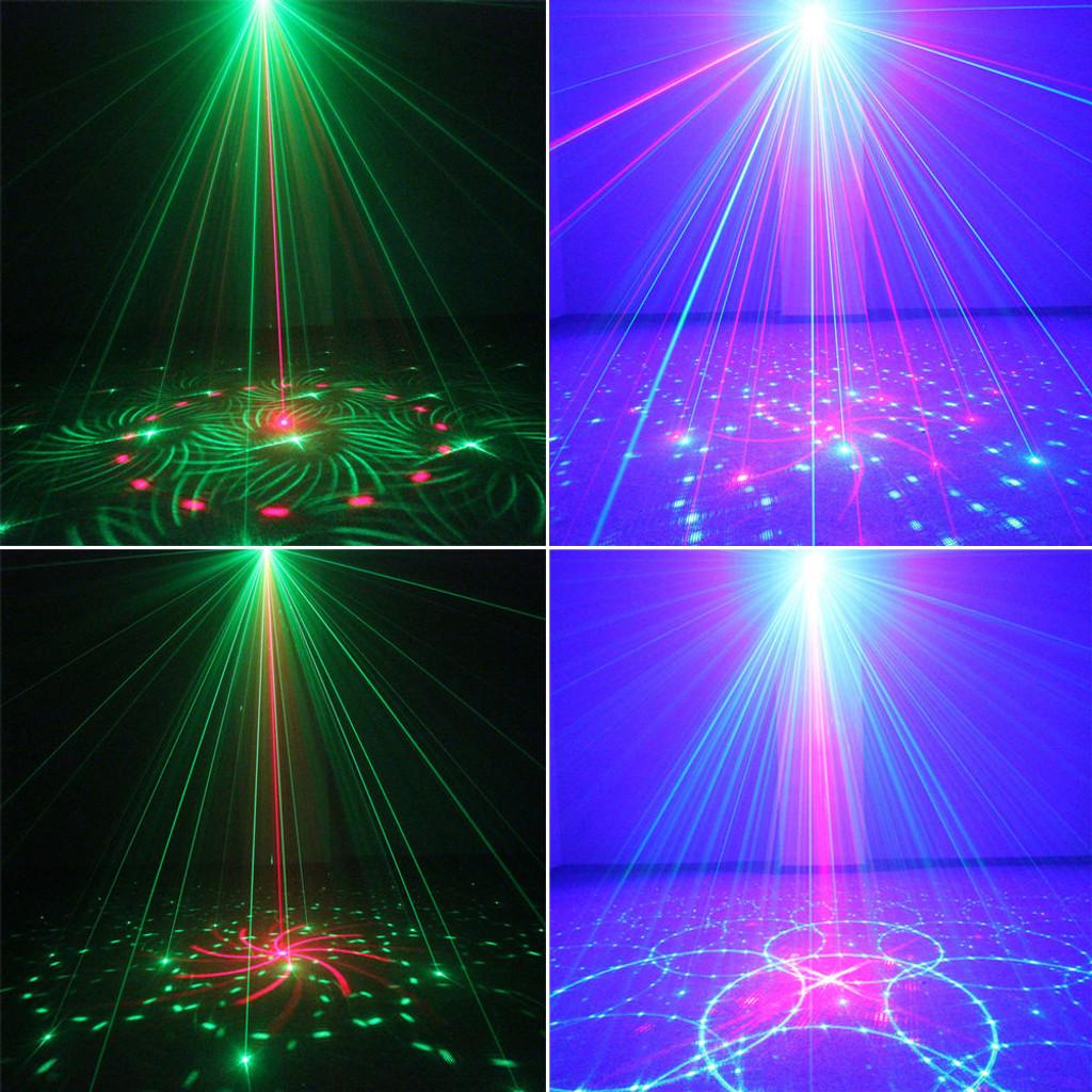 FULL COLOR RGB LASER STAGE LIGHTING RED GREEN BLUE LED