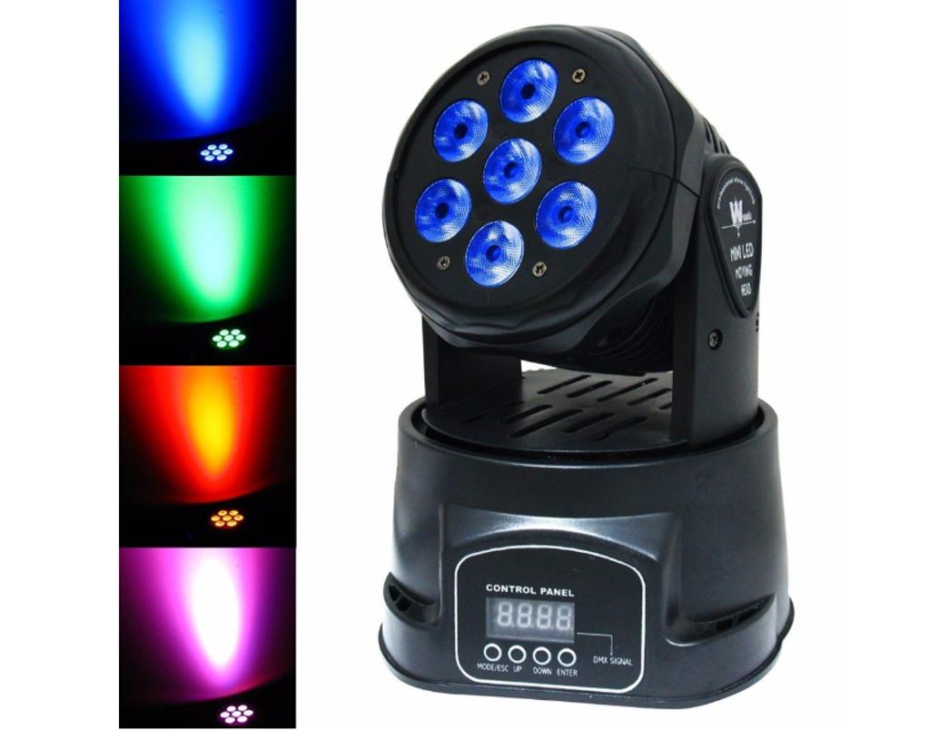 Mighty Mini 70W DMX-512 Mini Moving Head Light RGBW