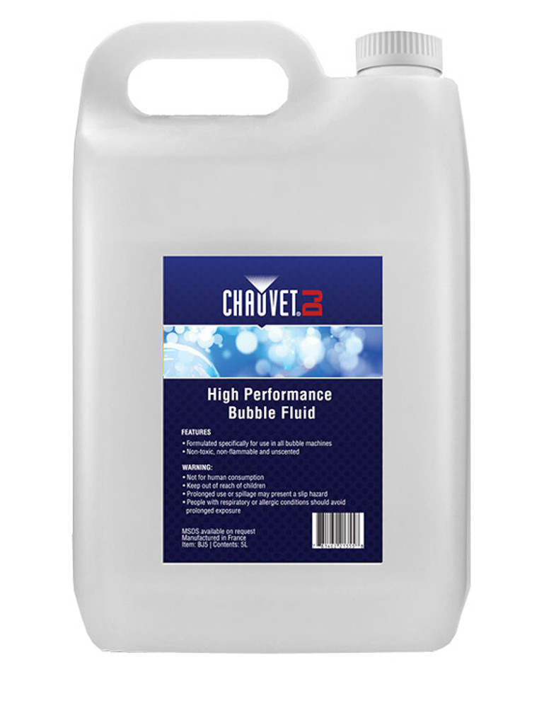 Chauvet DJ Bubble Machine Fluid BJ5
