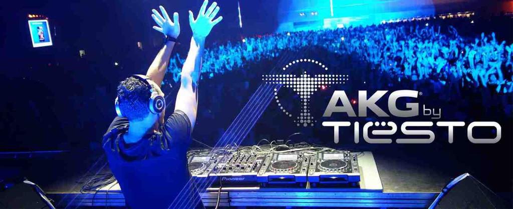 AKG K267 Tiesto Reference DJ Heaphones