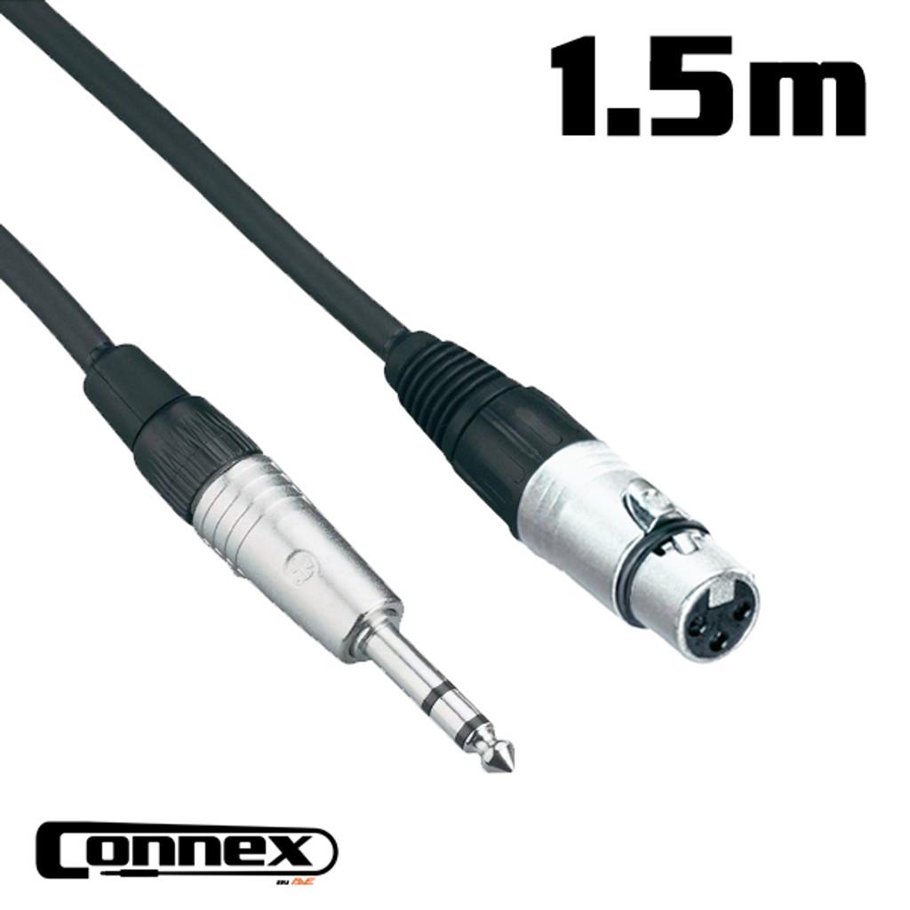 AVE Connex XFJS-1 Balanced Audio Cable 1.5m